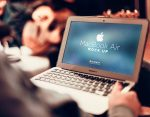 MacBook Air Mockup Template