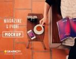 Magazine Mockup Template PSD