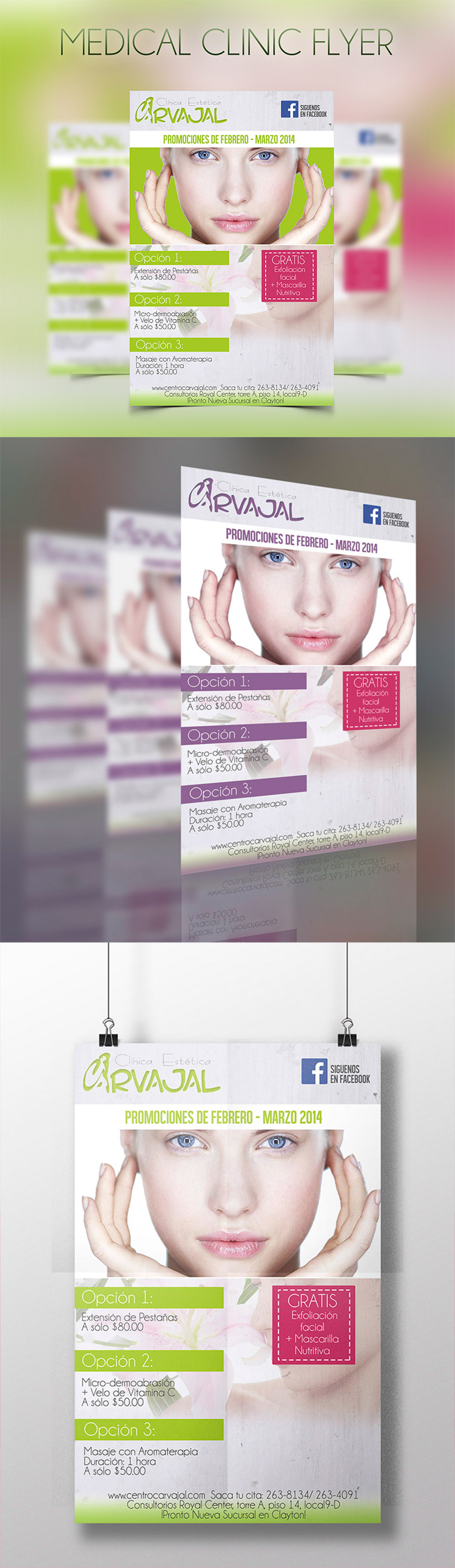 medical flyer template download psd graphicfy