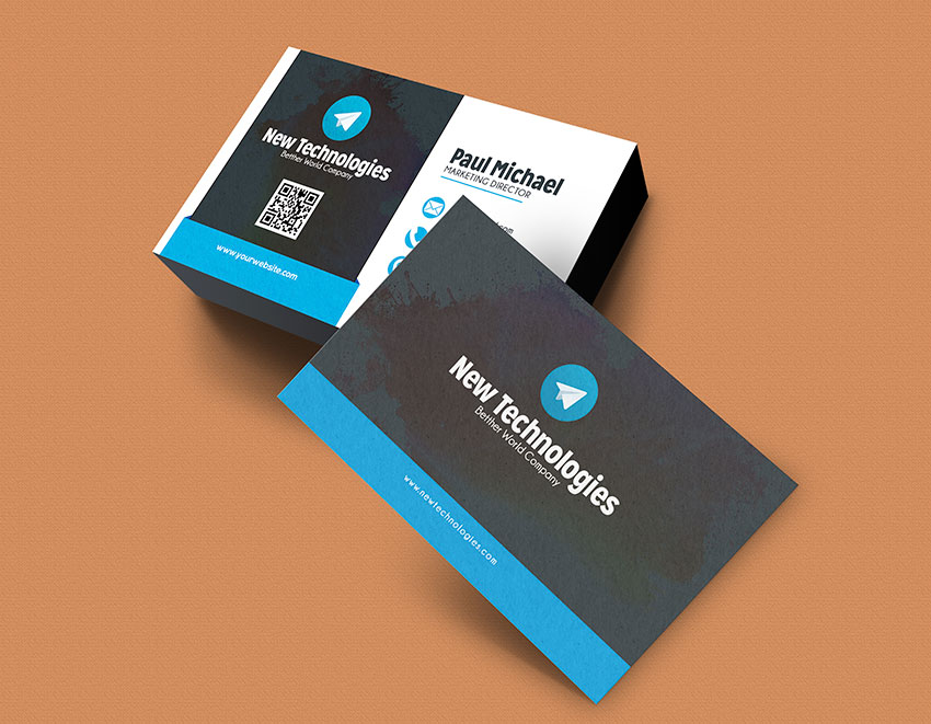 Modern Corporate Business Card - Graphicfy