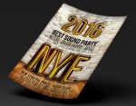 New Year's Eve 2016 Flyer