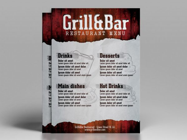 Restaurant Flyer Design