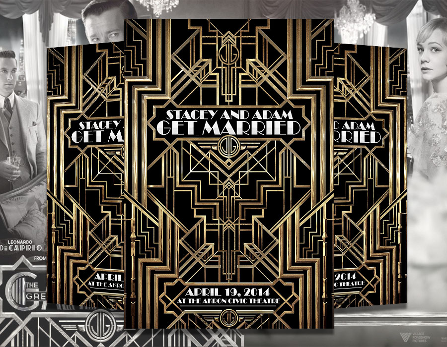 Gatsby Invitation for great invitations template