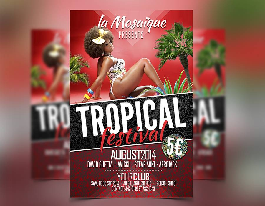 Tropical Summer Flyer Template Download Flyer Templates