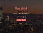 Persistent-Multipurpose Responsive Theme