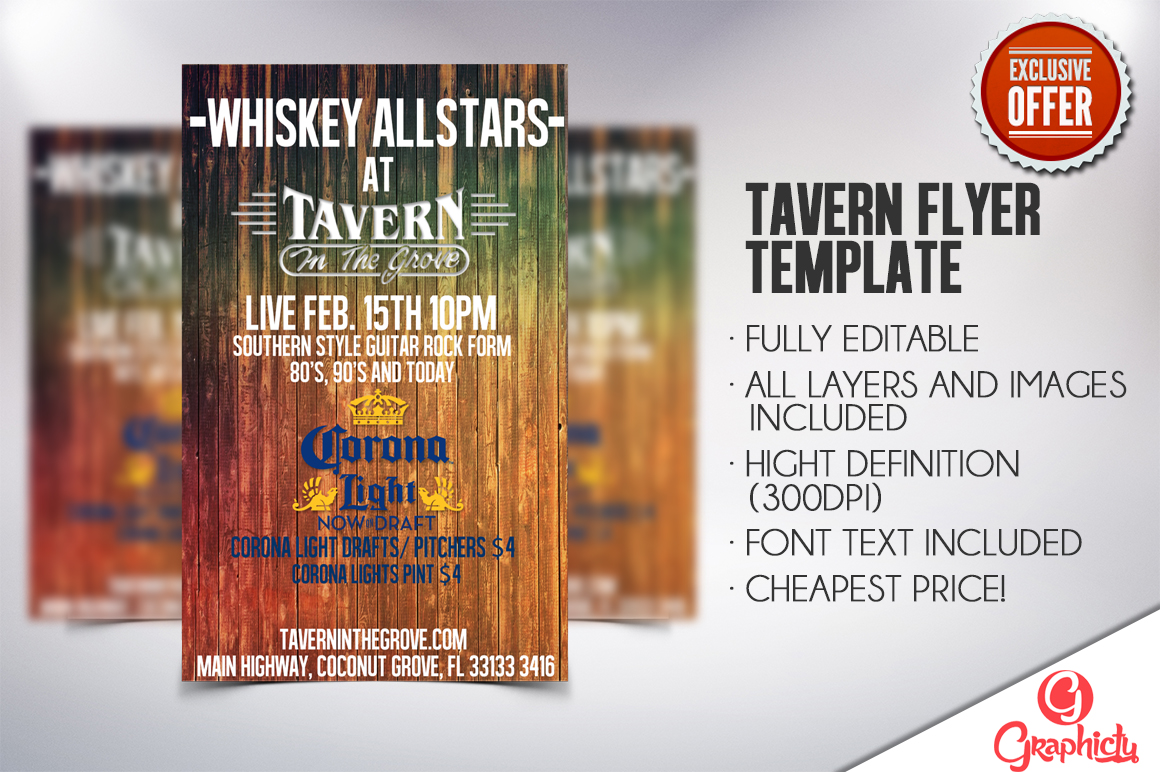 Tavern Flyer Preview