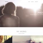 Photoja – Bootstrap OnePage Creative Portfolio Template