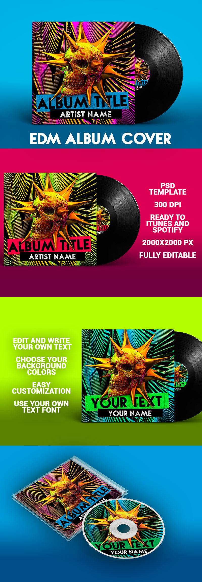 EDM-Album-Cover-PSD-Template