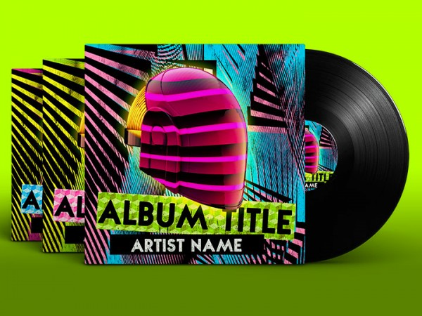 Album Covers Psd Templates