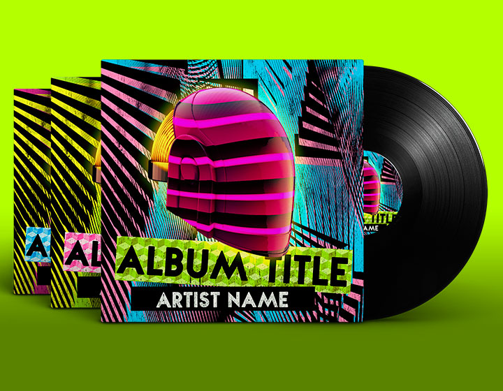 House Album Cover Psd Template  Download  Graphicfy