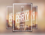 American Party Club Flyer Template