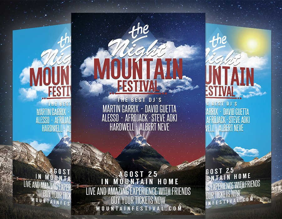 Festival Party Flyer Template Download Psd