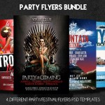 Mega Party Flyers Bundle – Save 60%