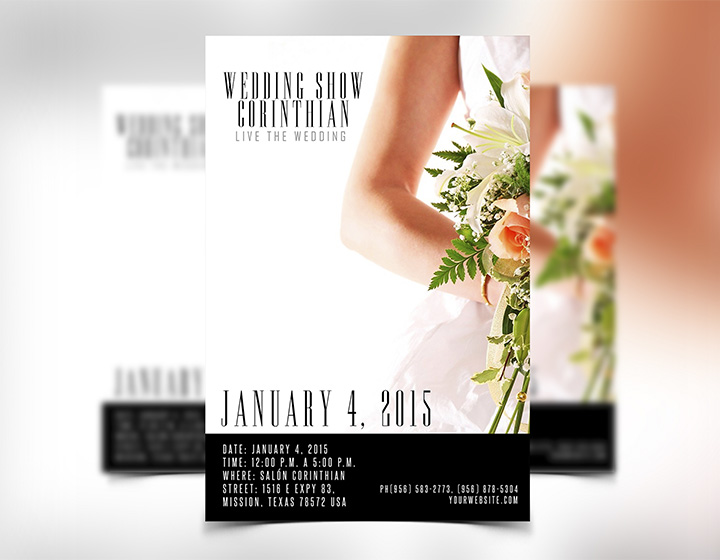 Wedding Flyer Template Psd - Download - Graphicfy